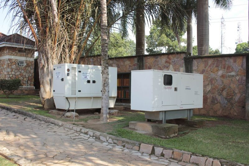 Hotel facilities include backup generator