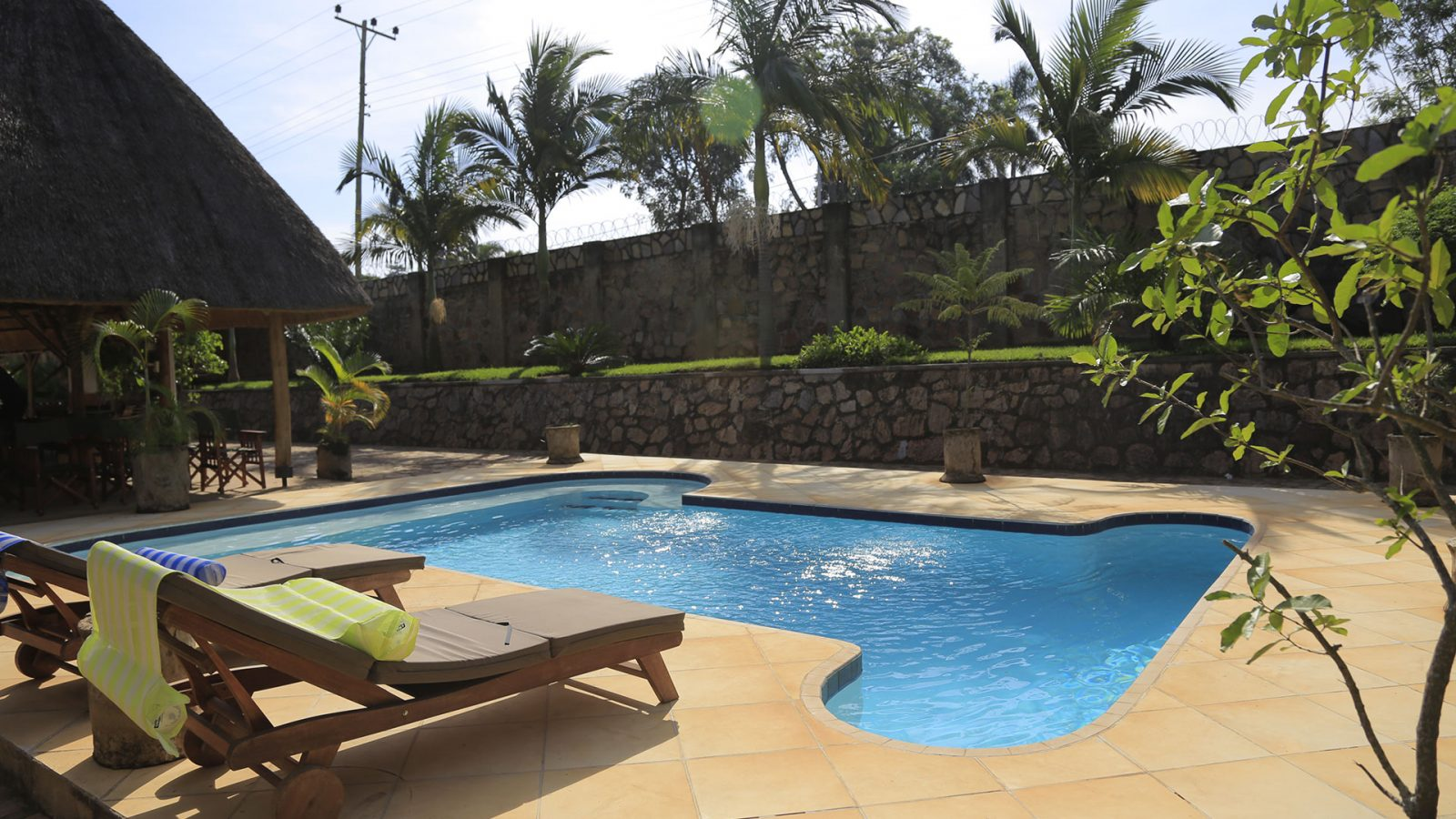 Entebbe hotel Swimming Pool
