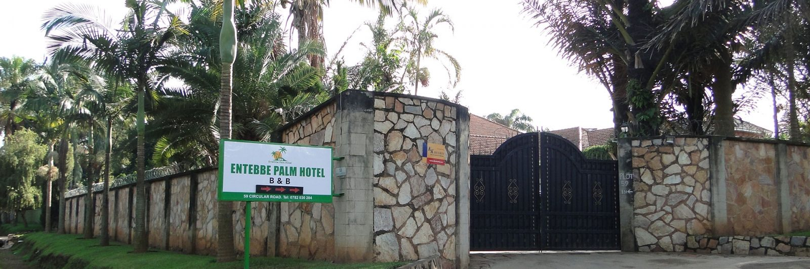Contact Entebbe Palm hotel