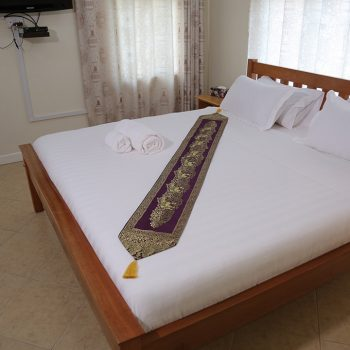 Entebbe palm hotel double bed